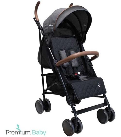 Cochecito Paraguita Bebe Kinectic Premium Baby Lux Cuero