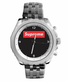 Relógio Personalizado Supreme Fundo Preto 5276