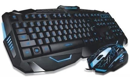 Kit Periférico Gamer Teclado E Mouse Multilaser