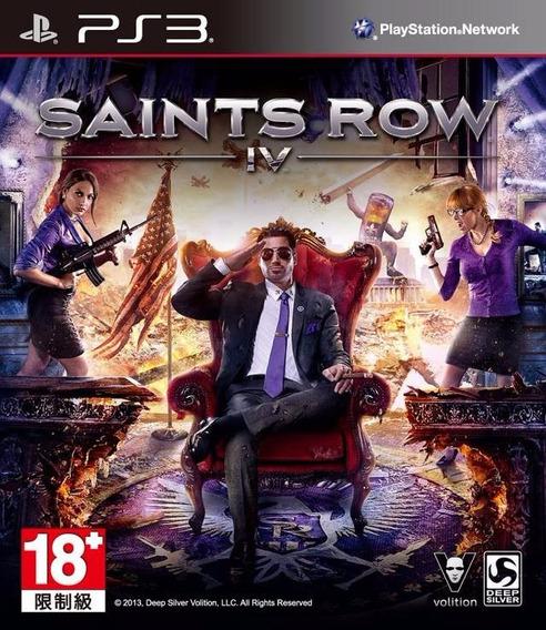 Saints Row 4 Iv - Playstation 3 Artgames