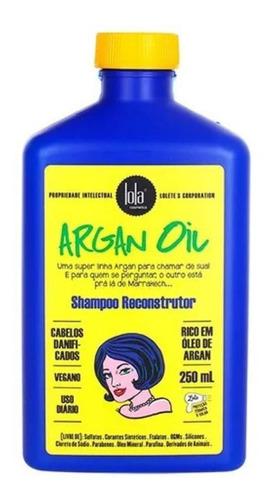 Lola Cosmetics Shampoo Reconstrutor Argan Oil 250ml