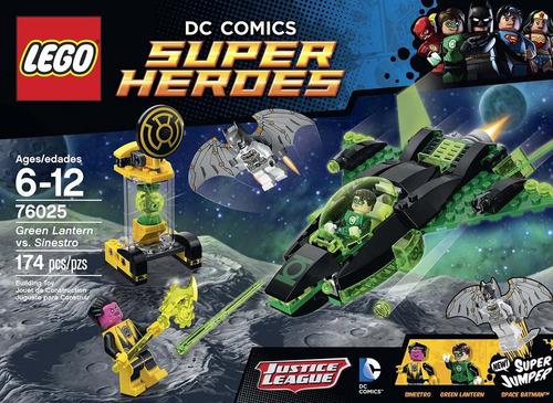 Lego Super Héroes 76025 Linterna Verde Vs  Sinestro 174 Pzs