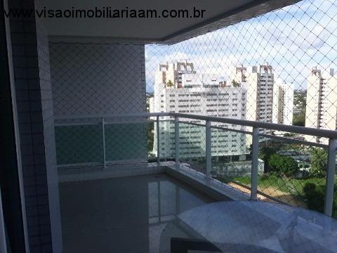 Lindo Apartamento 100% Mobiliado Bairro Do Parque 10, Localização É Privilegiada, Fica Na Rua Maneca Marques Esquina Com Recife. Fica A 2 Minutos Dos - Ap00975 - 33961335