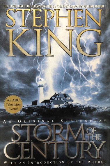 Livro - Storm Of The Century - Stephen King - Sebo Refúgio