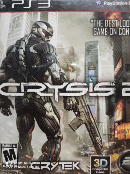 Crysis 2 Ps3 Original , Mídia Física, Pronta Entrega