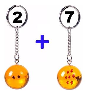 Chaveiro De 2 Estrelas E 7 Estrelas Esferas Do Dagão
