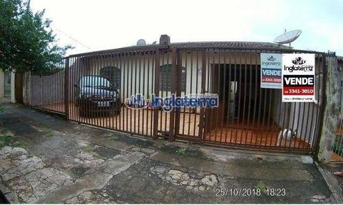 Casa À Venda, 190 M² Por R$ 490.000,00 - Bela Vista - Londrina/pr - Ca0178