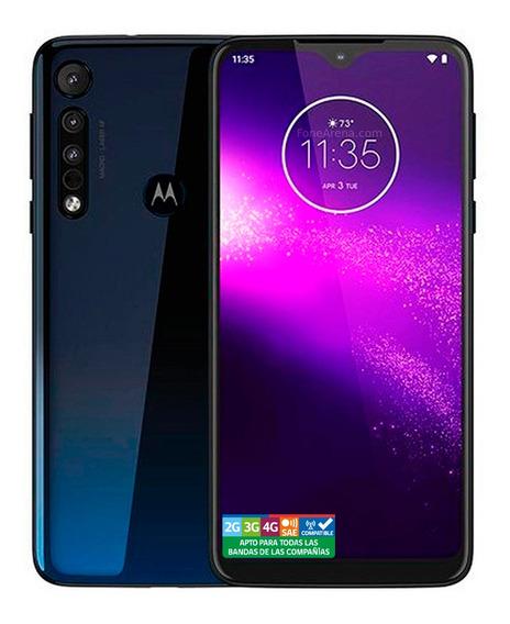 Motorola One Macro Azul Metálico 64gb Rom 4gb Ram