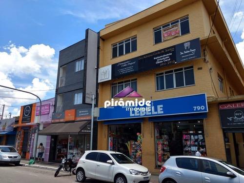 Sala Para Alugar, 50 M² Por R$ 1.100,00 - Jardim Paulista - São José Dos Campos/sp - Sa0193