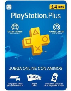 Playstation Plus 14dias