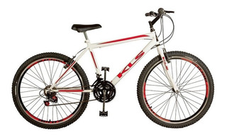 Bicicleta Mtb Kls Sport Gold Aro 26 Freio V-brake 21 Marchas