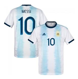 Jersey Playera Argentina Messi 10 Copa América 2019. Oferta