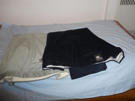 Pantalones De Corderoy Talles Especiales