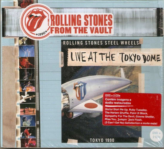 Box 2cd + Dvd The Rolling Stones From The Vault - Live At