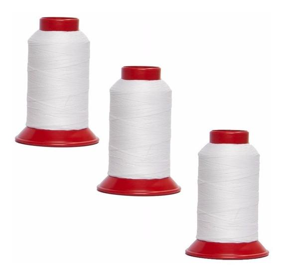 3 Linhas Para Pipa, Arraias E Papagaios 500 Jardas Branca