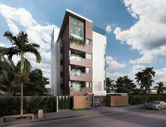 Apartamento Em Intermares, Cabedelo/pb De 38m² 1 Quartos À Venda Por R$ 166.612,00 - Ap210942