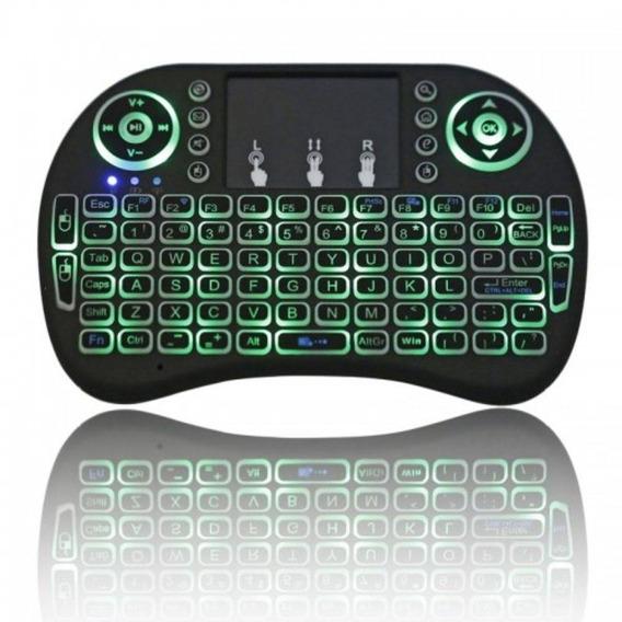 Mini Teclado Touchpad Wireless Bluetooth Usb Pc Tv Xbox Ps3