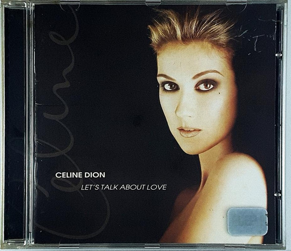 Cd Celine Dion - Lest Talk About Love - Ia