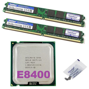 Kit Memória Ddr2 800mhz 4 Gb + Cpu Core 2 Duo E8400 3 Ghz