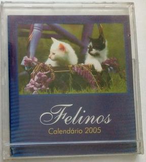 Calendário Kapos Modelo Cd - Felinos - 2005