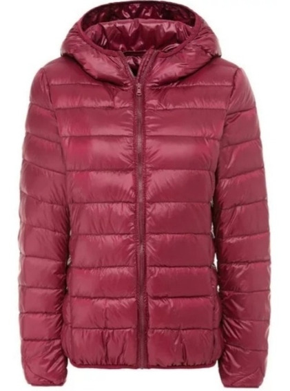Campera Pluma Tipo Uniqlo Mujer Importada Ultra Light