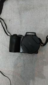 Camera Filmadora Samsung 26x De Zoom Único Dono