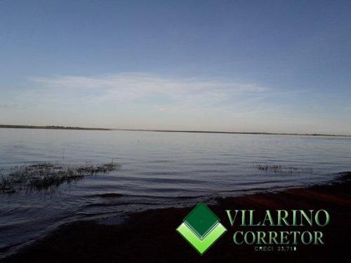 Terreno  Na Ilha Do Mangabal Represa De Três Marias - 3012