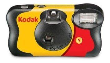 Camara Kodak Funsaver 35mm De Un Solo Uso