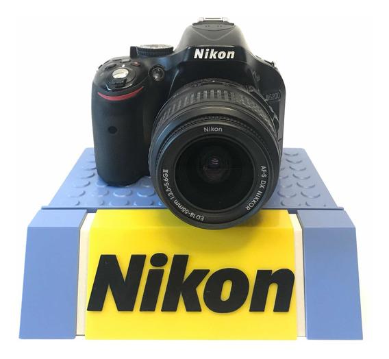 Câmera Dslr Nikon D5200 Profissional Foto Vídeo