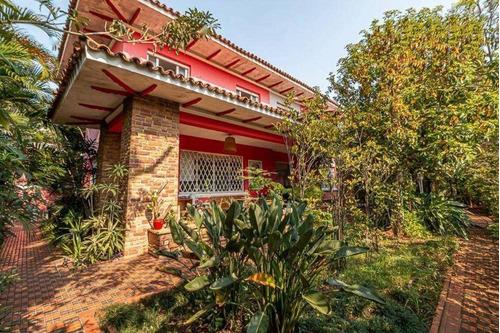 Casa Com 4 Dorms, 420 M² - Venda Por R$ 3.000.000 Ou Aluguel Por R$ 22.000 - Pacaembu - São Paulo/sp - Ca2665