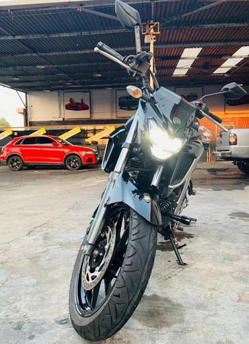 Yamaha Fz25 Fazer Abs 2021 Preta Único Dono.