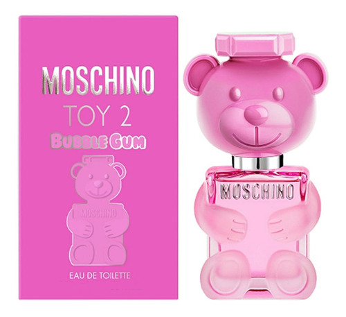 Imagen 1 de 6 de Perfume Moschino Toy2 Bubble Gum Edt 100 Ml