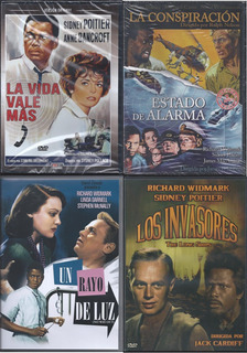 5a Colección Sidney Poitier 5 Películas Clásicas Importadas