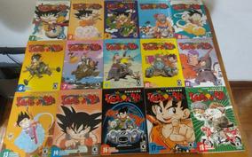 Coleção Mangá Dragon Ball - Ed. Conrad - Lote Com 24 Edições