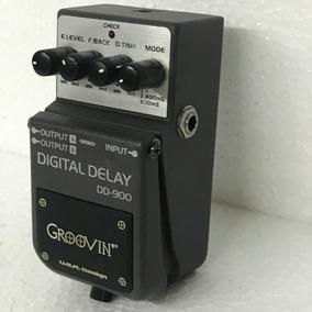 Pedal Groovin Digital Delay Dd900 - Usado!!