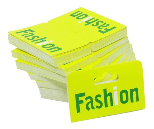 1000 Solapas Fashion Para Saquinhos Transparentes 6 X 8 Cm
