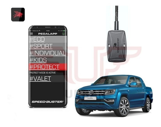 Gas Pedal Speed Buster App Bluetooth Vw Amarok 2.0 3.0 V6