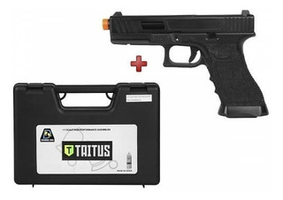 Pistola Airsoft Glock Taitus Double Bell Gbb