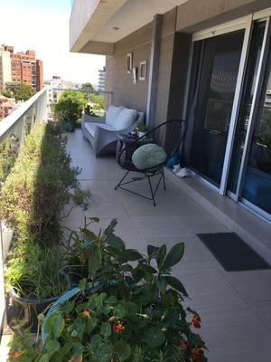 Punta Carretas.impecable Planta. Piso Alto.terraza. Garage.