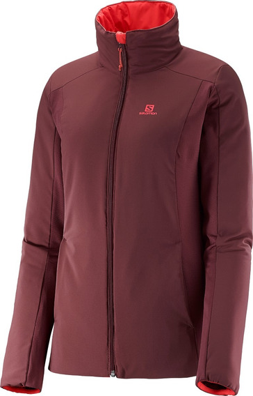 Camperas Salomon - Drifter Mid Jacket - Hiking - Mujer