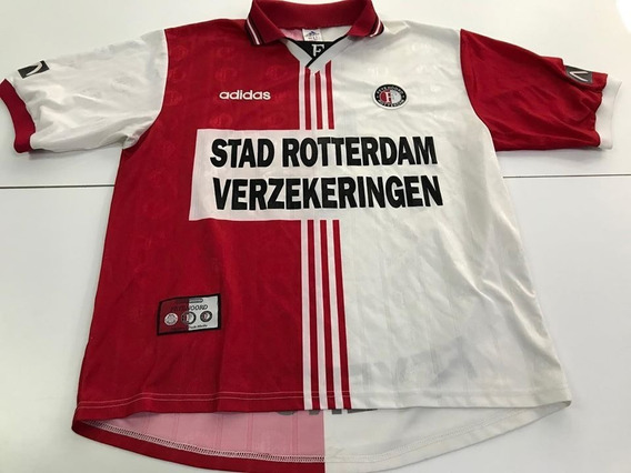 Camiseta Del Feyenoord Año 1997 Original De Época 9 Cruz
