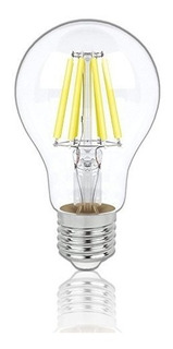 Foco Vintage Led E26 A60 Filamento 4w Transp Luz Fria Lummi