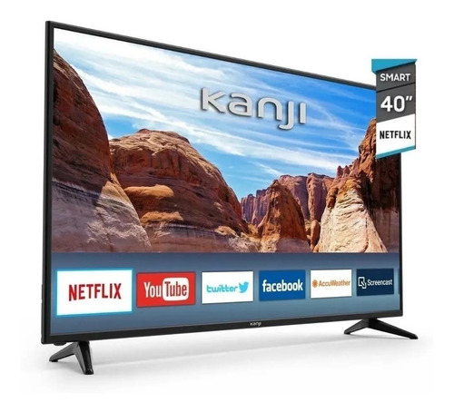 Led Smart Tv Kanji 40 Pulgadas Hd Android