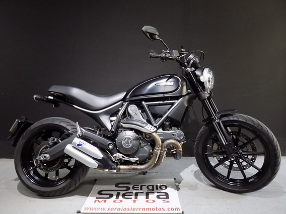 Ducati Scrambler Full Throttle Negra 2016