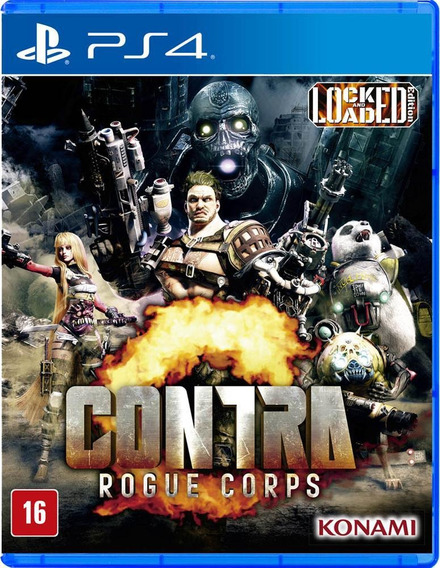 Contra - Rogue Corps - Ps4
