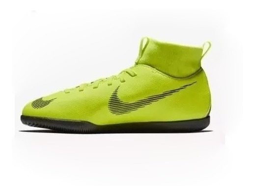 Chuteira Nike Mercurial Jr Superfly 6 Club Ic Infantil + Nf