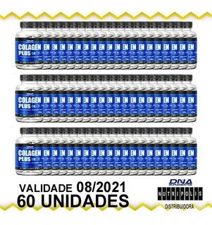 Colagen Plus - 100 Tabletes 1000mg Kit C/60 Unids Dna