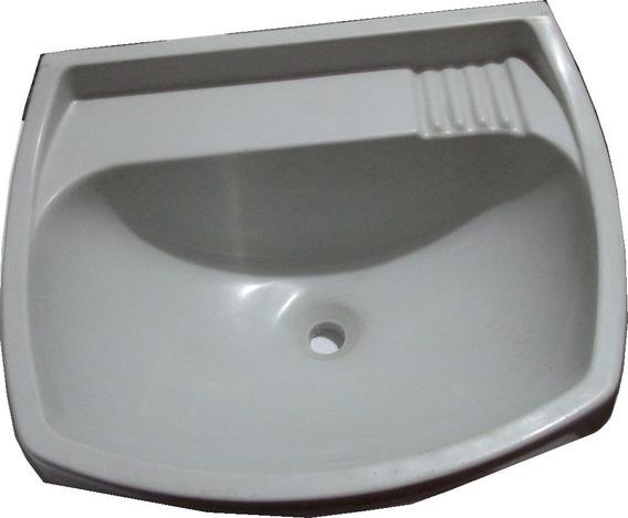 Lavatorio Plastico 48 Cm X 38 Cm Cinza Cozinha, Banheiro