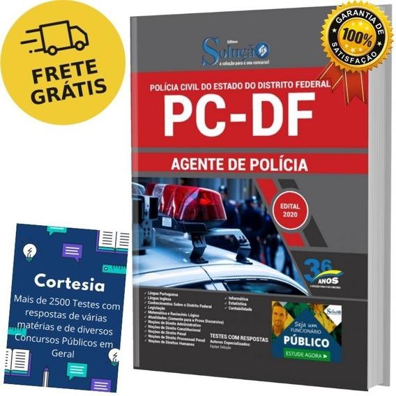 Apostila Agente De Polícia Civil Do Distrito Federal - Pc Df