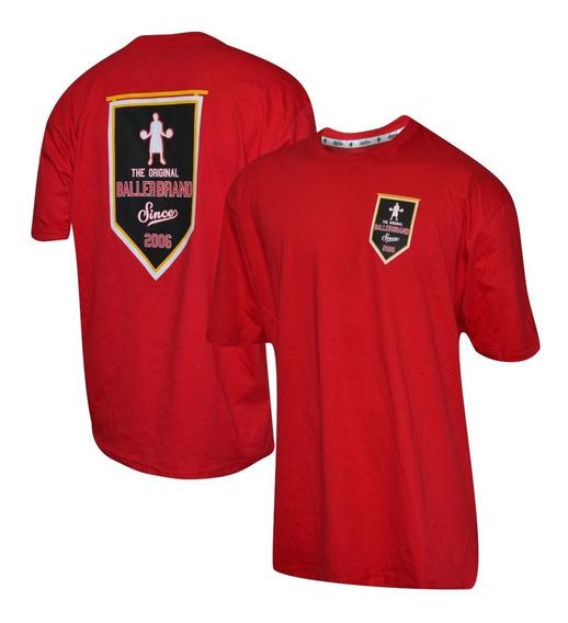 Remera Baller Brand Banner Rojo